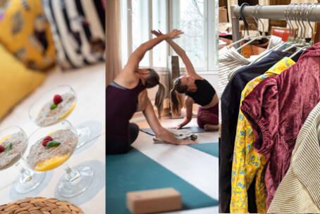 Yoga, Brunch & Clothing Swap